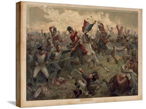 Waterloo, Presented with 'Old England's Annual', 1898--Stretched Canvas Print