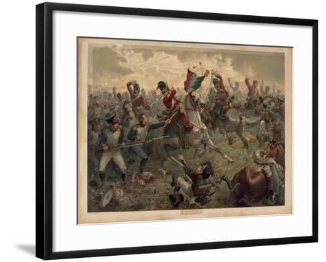 Waterloo, Presented with 'Old England's Annual', 1898--Framed Art Print