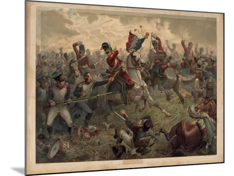 Waterloo, Presented with 'Old England's Annual', 1898--Mounted Giclee Print