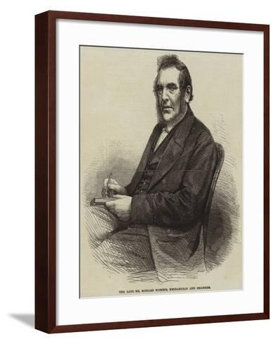 The Late Mr Richard Roberts, Mechanician and Engineer--Framed Art Print
