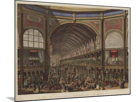 The International Exhibition, the Nave, Looking West--Mounted Giclee Print