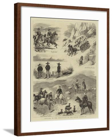 Sketches in the Territories of the United States, II--Framed Art Print