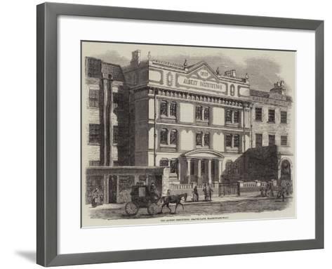 The Albert Institution, Gravel-Lane, Blackfriars-Road--Framed Art Print