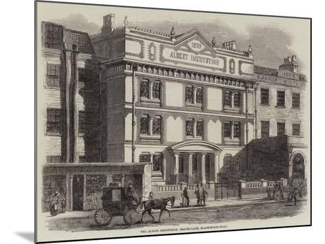 The Albert Institution, Gravel-Lane, Blackfriars-Road--Mounted Giclee Print