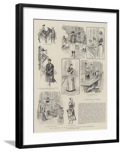 Old Antwerp at the Antwerp International Exhibition--Framed Art Print