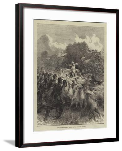 The Autumn Campaign, Advance of the Connaught Rangers--Framed Art Print