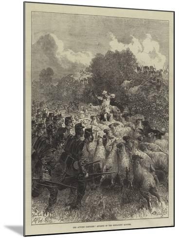 The Autumn Campaign, Advance of the Connaught Rangers--Mounted Giclee Print