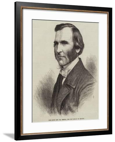 The Right Reverend Dr Temple, the New Bishop of Exeter--Framed Art Print