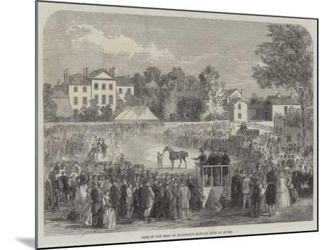 Sale of the Earl of Stamford's Hunting Stud at Quorn--Mounted Giclee Print