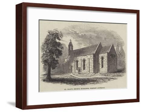 St Mary's Church, Busselton, Western Australia--Framed Art Print