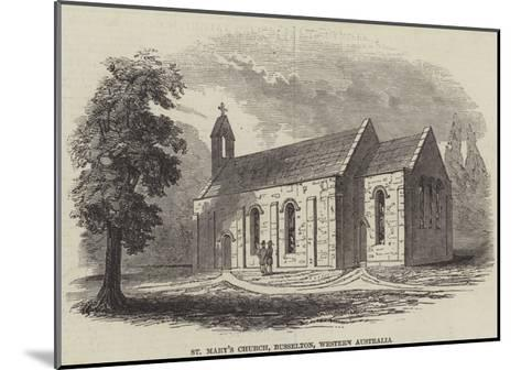 St Mary's Church, Busselton, Western Australia--Mounted Giclee Print