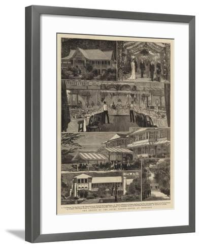 The Cruise of the Royal Cadets, Notes at Trinidad--Framed Art Print