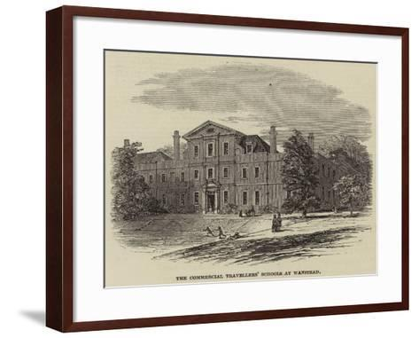 The Commercial Travellers' Schools at Wanstead--Framed Art Print
