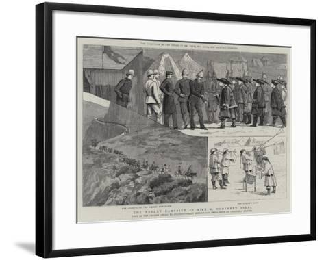The Recent Campaign in Sikkim, Northern India--Framed Art Print