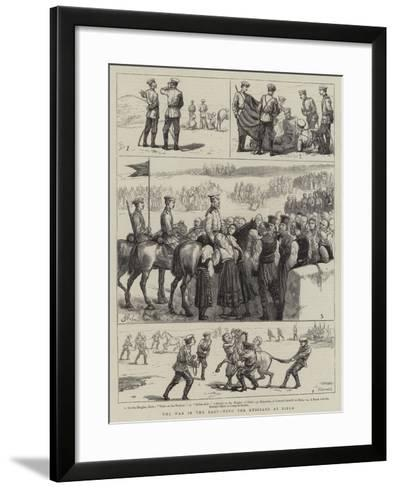 The War in the East, with the Russians at Biela--Framed Art Print