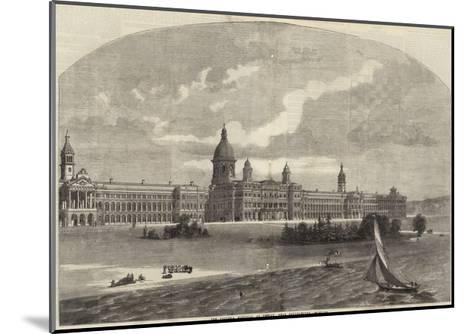 The Victoria Hospital at Netley Near Southampton--Mounted Giclee Print