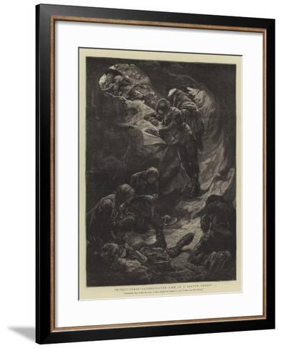 Ninety-Three, Underground Life in a Breton Forest--Framed Art Print