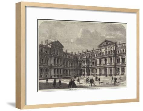 The New Foreign and India Offices, the Quadrangle--Framed Art Print