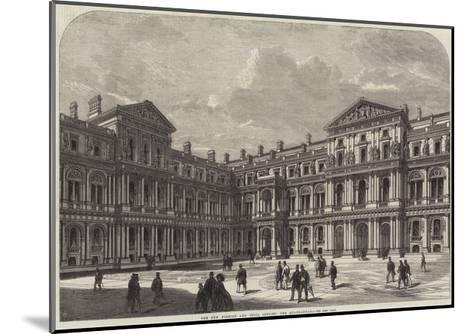 The New Foreign and India Offices, the Quadrangle--Mounted Giclee Print