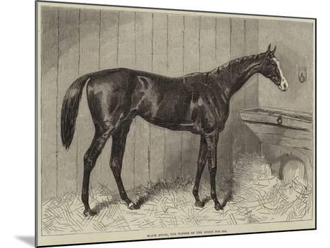Blair Athol, the Winner of the Derby for 1864--Mounted Giclee Print