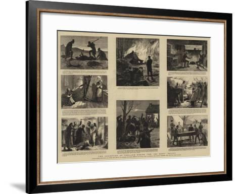 The Condition of Ireland under the No Rent Policy--Framed Art Print