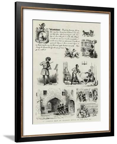 A Journal Kept by Richard Doyle in the Year 1840--Framed Art Print