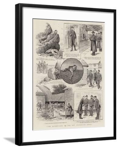 The Adventures of the Reverend Archibald Jones--Framed Art Print