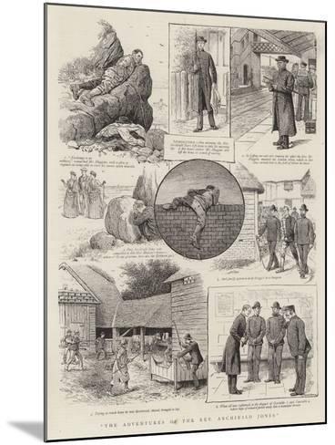 The Adventures of the Reverend Archibald Jones--Mounted Giclee Print