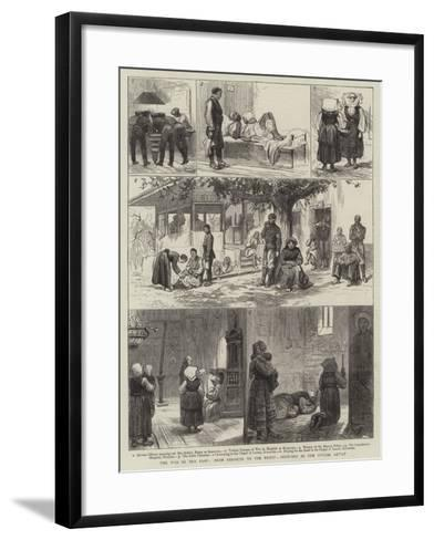 The War in the East, from Parakjin to the Front--Framed Art Print