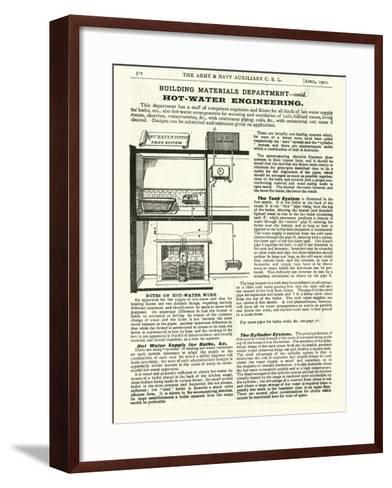 Page from the Army and Navy Catalogue, April 1902--Framed Art Print