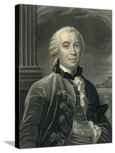 Georges-Louis Leclerc (1707-88) Count De Buffon--Stretched Canvas Print