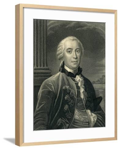 Georges-Louis Leclerc (1707-88) Count De Buffon--Framed Art Print
