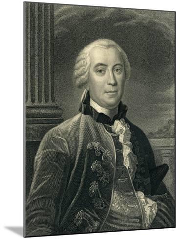 Georges-Louis Leclerc (1707-88) Count De Buffon--Mounted Giclee Print