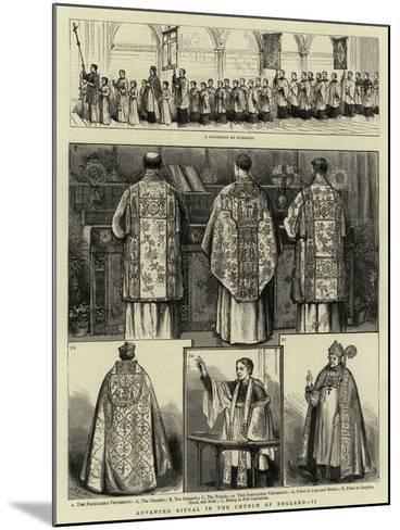 Advanced Ritual in the Church of England, II--Mounted Giclee Print