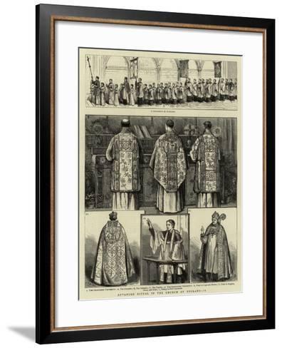 Advanced Ritual in the Church of England, II--Framed Art Print