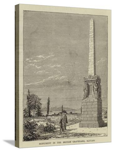 Monument in the British Graveyard, Scutari--Stretched Canvas Print