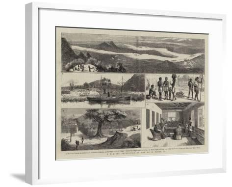 A Trading Expedition Up the River Niger, II--Framed Art Print