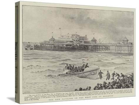 The New Pavilion on the West Pier at Brighton--Stretched Canvas Print