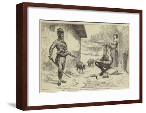 Art During the Congress, a Picturesque Enemy--Framed Art Print