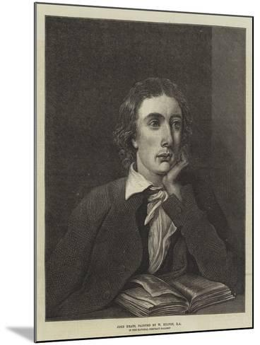 John Keats, in the National Portrait Gallery--Mounted Giclee Print