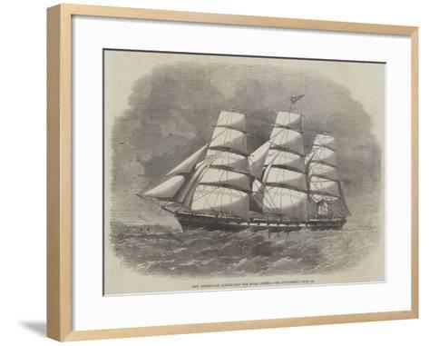 New Australian Clipper-Ship the Royal Family--Framed Art Print