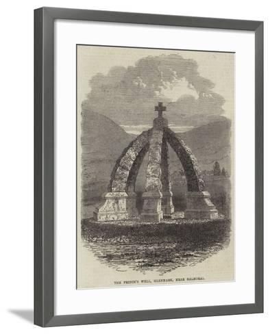 The Prince's Well, Glenmark, Near Balmoral--Framed Art Print
