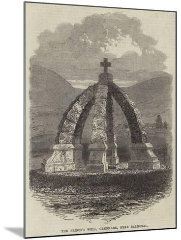 The Prince's Well, Glenmark, Near Balmoral--Mounted Giclee Print