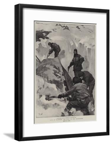 Life at Elmwood, the Home of the Expedition--Framed Art Print