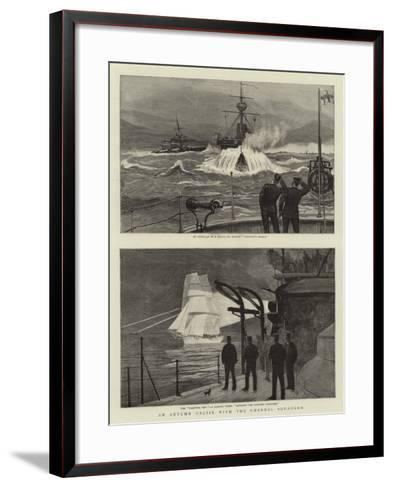 An Autumn Cruise with the Channel Squadron--Framed Art Print