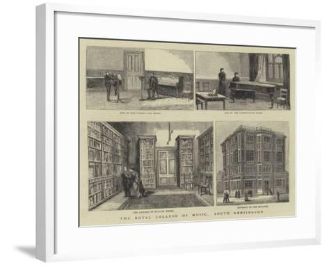 The Royal College of Music, South Kensington--Framed Art Print