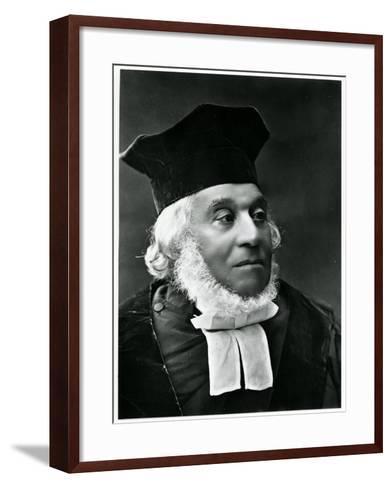 Rabbi Nathan Marcus Hakohen Adler (1803-90)--Framed Art Print