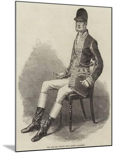 The Late Mr Charles Davis, Queen's Huntsman--Mounted Giclee Print