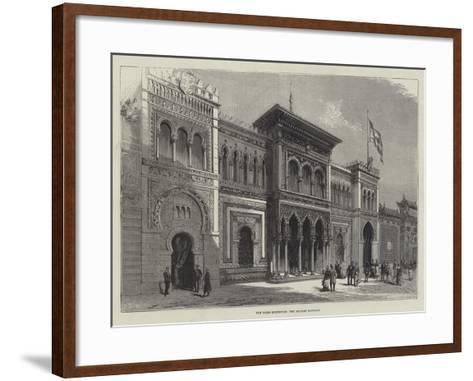 The Paris Exhibition, the Spanish Pavilion--Framed Art Print