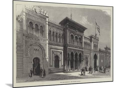 The Paris Exhibition, the Spanish Pavilion--Mounted Giclee Print